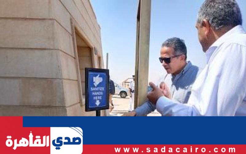 بالصور.. زيارة وزير السياحة مع مسؤول السياحة العالمية لمنطقة الأهرامات