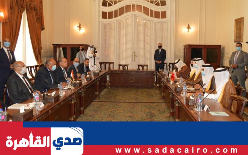 مصر والبحرين تناقشان تحقيق السلام الشامل بين البلدين