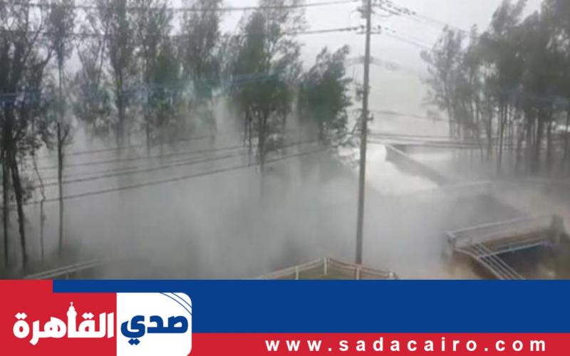 """تحذير من وكالة الأرصاد الجوية اليابانية بشأن إعصار """"هايشن"""""""