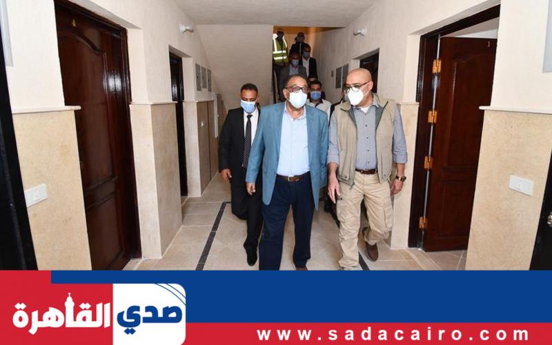 وزير الإسكان يتفقد الوحدات العمرانية الجديدة في مدينة بدر