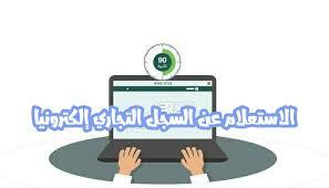 استعلام عن سجل تجاري بالاسم مصر 2020