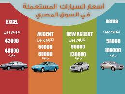 اسعار السيارات المستعملة فى مصر