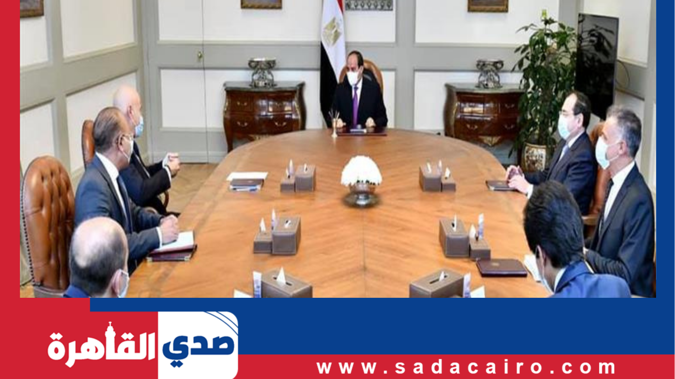 رئيس الجمهورية يستقبل وزراء ومسؤولي الإعلام العرب