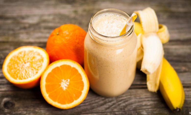 ما فوائد الموز والبرتقال للتخسيس والبشرة ؟